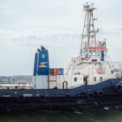 Буксиры P&O Maritime Ukraine начали работать в Николаевском порту