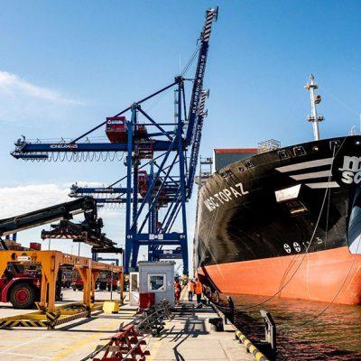 MSC будет развивать контейнерный терминал в Клайпеде