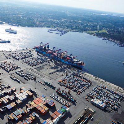 В порту Гетеборг опробуют программу сокращения выбросов на строительных площадках