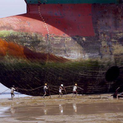 Разделка судов на Индийском субконтиненте растет в цене