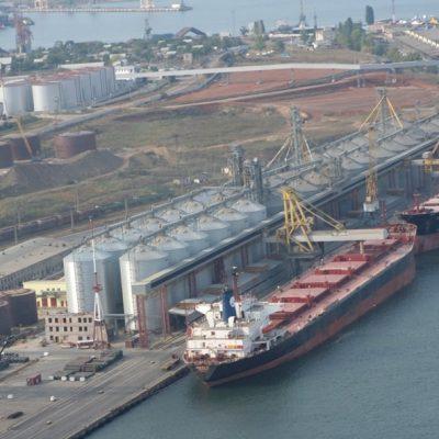 Порт «Черноморск» нарастил перевалку зерна на 7,3%