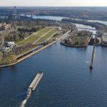 «Укрводшлях» объявил тендер на ремонт системы осушения камеры Запорожского шлюза