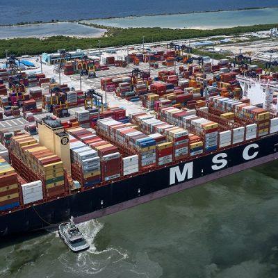 MSC приобрела на вторичном рынке 19 контейнеровозов за $290 млн