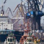 Четверка крупнейших морпортов обеспечила 87% грузоперевалки