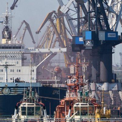 Морпорты сократили грузооборот на 17% в первом полугодии