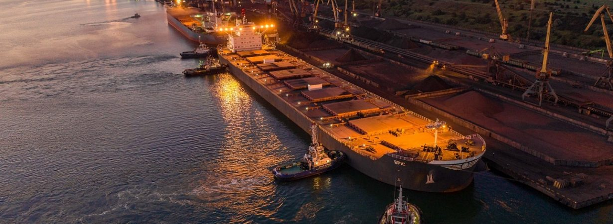 В январе-ноябре морпорты сократили количество обработанных судов на 7,3%