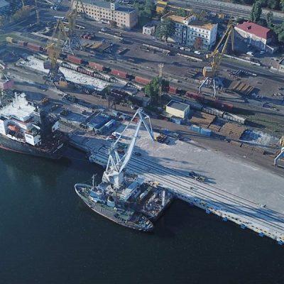 В Одесском порту набирает темпы вторая очередь реконструкции причала №7