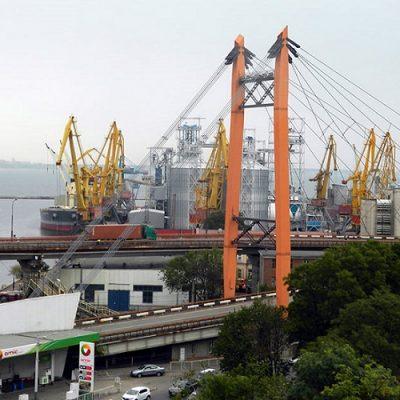 В Одесском порту завершается реконструкция первой очереди транспортной эстакады