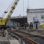 В Мариупольском порту идет строительство ж/д ветки на зерновой терминал