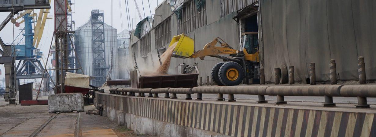 Экспорт зерна отстает от прошлогоднего графика на 4 млн тонн