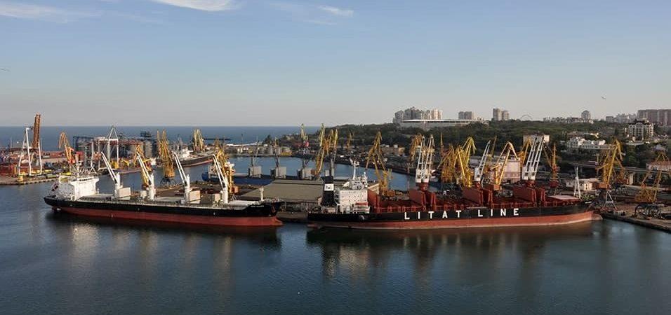 Порт Одесса сократил грузооборот на 14% в первом полугодии
