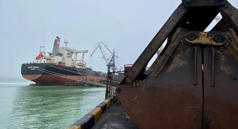 Порт «Пивденный» сократил грузооборот на 17% в первом квартале