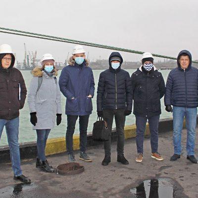 Разработчики пре-ТЭО концессии первого и контейнерного терминалов «Черноморска» осмотрели активы