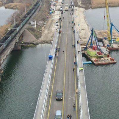 «Укравтодор» открыл движение по восстановленному мосту через Чертомлык