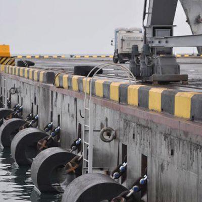 Одесский порт завершил строительство нового причала на Андросовском молу