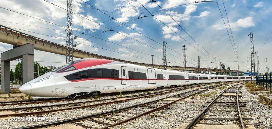 В Китае создали грузовой поезд со скоростью до 350 км/ч