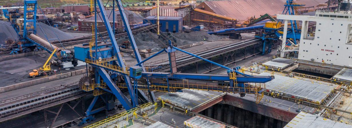 Порт «Пивденный» нарастил перевалку руды, химгрузов, металла и контейнеров