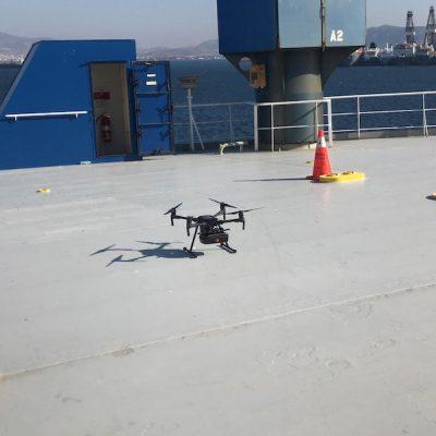 Моряков на судах будут тестировать на COVID-19 с помощью дронов