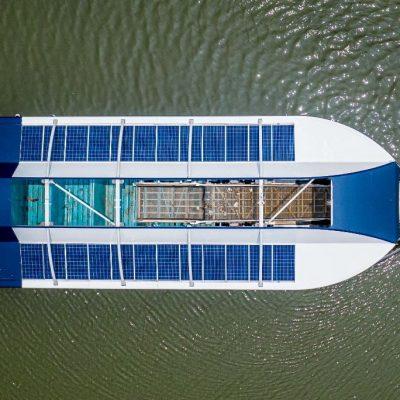 Konecranes будет строить речные суда-перехватчики пластика