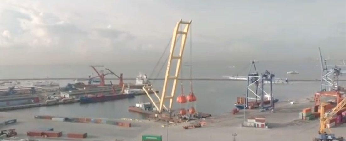К строительству моста в Запорожье привлекут кран «Захарий»