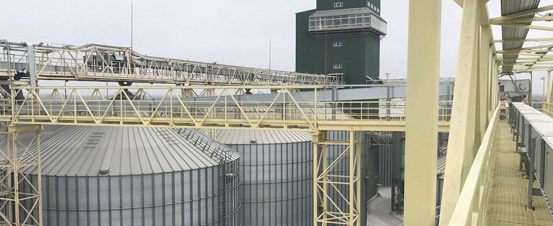 «Нибулон» увеличил мощности речного терминала в Херсонской области
