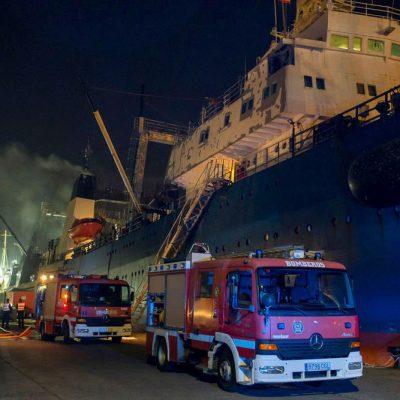 Украинские моряки погибли при пожаре на судне в Лас-Пальмас