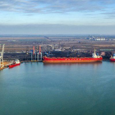 Порт «Пивденный» увеличил грузооборот на 14,5% в 2020 году