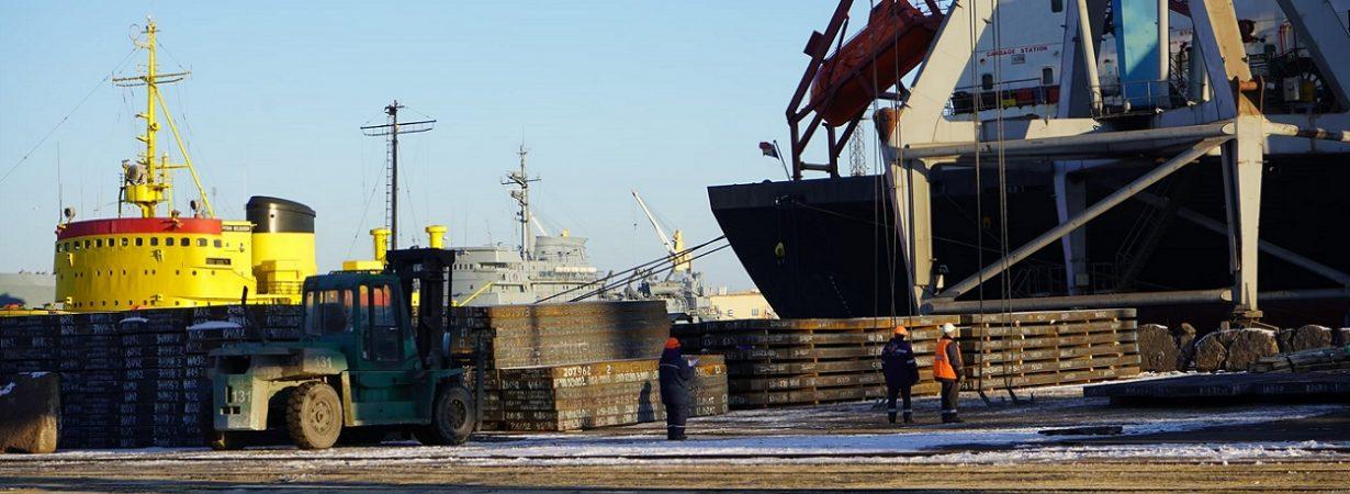 С начала года госстивидор ММТП обработал около 150 тыс. тонн грузов