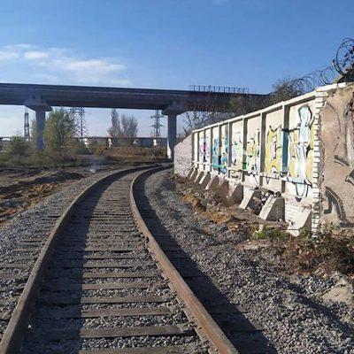 «Евротерминал» достроил железнодорожную ветку к станции Одесса-Пересыпь