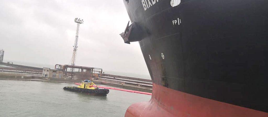 ОМТП провел первую после годового перерыва буксирную операцию полностью собственным флотом