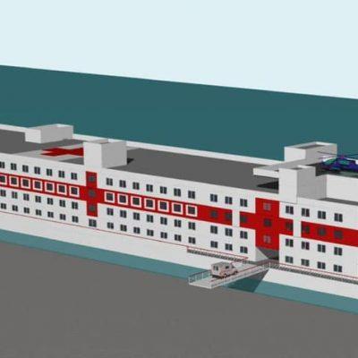 «Паллада» планирует построить плавучий госпиталь для работы во время пандемии
