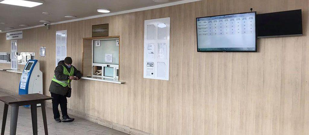 Порт Одесса разместил на въезде табло с информацией о свободных «тайм-слотах»
