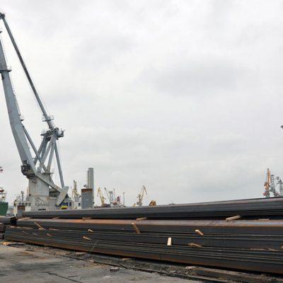 Порт Одесса начал второй этап реконструкции причала №7