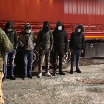 В порту Черноморск задержали нелегальных мигрантов из Сирии