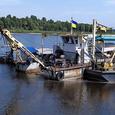 Дноуглубительный флот АМПУ увеличил годовой объем дноуглубления более чем на треть
