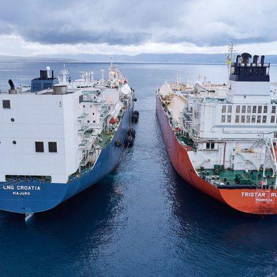 Хорватия начала эксплуатацию плавучего терминала для приема СПГ из США