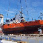Завод «Океан» отремонтирует катер «Госгидрографии»