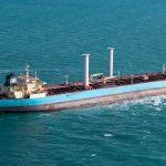 Maersk продал свой танкер с роторными парусами