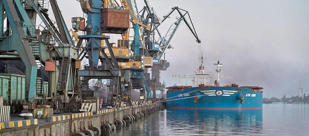 Гостивидор «Южный» на 24% улучшил рекорд годовой перевалки грузов