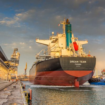 Терминал Neptune обработал балкер дедвейтом почти 85 тыс. тонн
