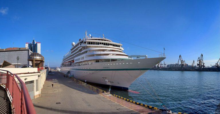 Одесский порт ожидает заход первого круизного судна с начала пандемии COVID-19
