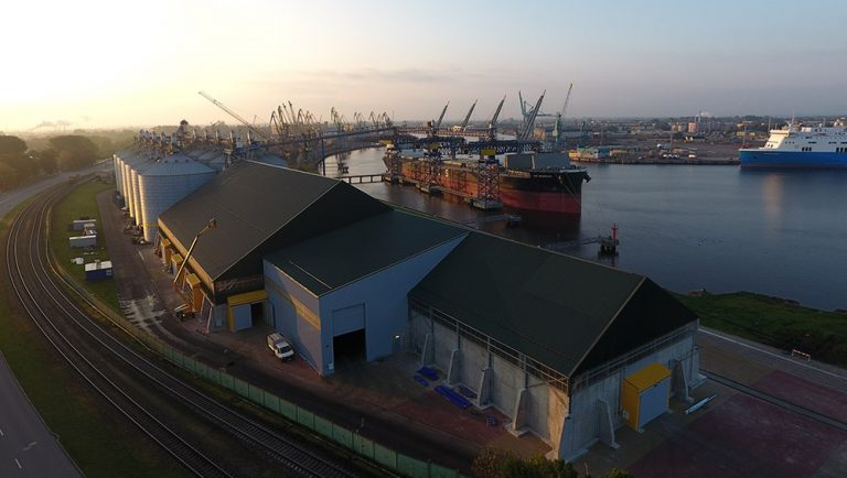 Казахстанcкий инвестор продает зерновой терминал в порту Вентспилс