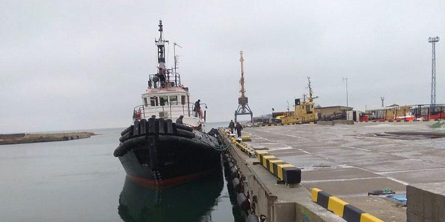 Буксир «Доковец» вернулся к работе в порту Скадовск