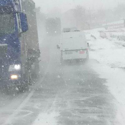 «Укравтодор» перекрыл трассы в южных областях из-за непогоды