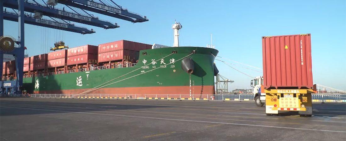 В порту Тяньцзинь запустили полностью автоматизированный терминал