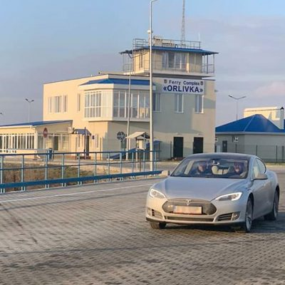 На переправе Орловка—Исакча поставят зарядку для электромобилей