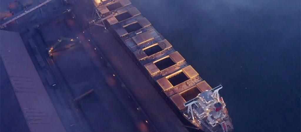 Ferrexpo впервые отправила партию окатышей судном Newcastlemax