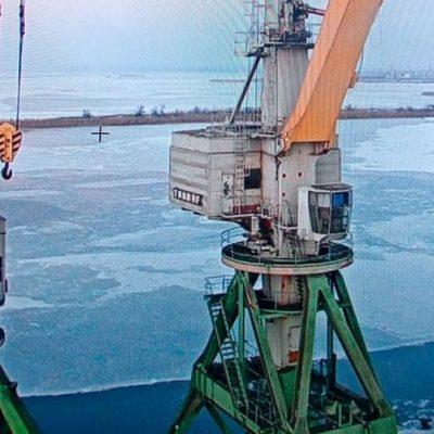 Порт «Ольвия» завершает ледовую кампанию