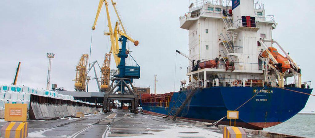 Госстивидор ММТП обработал более 350 тыс. тонн грузов с начала месяца