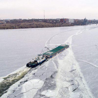 «Нибулон» увеличил перевозку грузов по реке на 9% в 2020 году